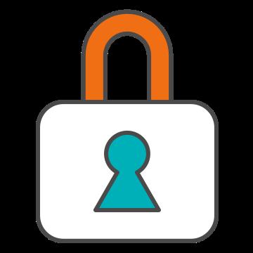An illustration of a padlock